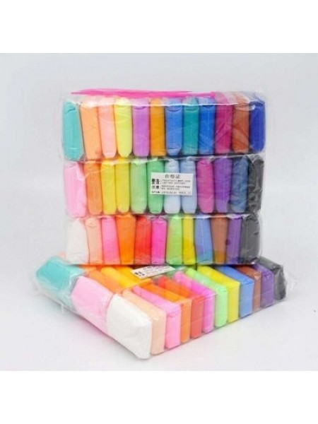 Масса для лепки самозастывающая 36 цветов в наборе Super Clay творческий набор SKL32-276049