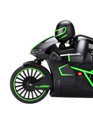 Мотоцикл Crazon 333-MT01, на радиоуправлении, масштаб 1к12 зеленый SKL17-139962