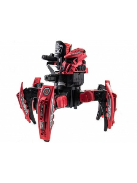 Робот-паук Keye Toys Space Warrior на радиоуправлении ракеты, диски, лазер красный SKL17-139946