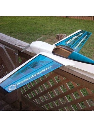 Самолёт Precision Aerobatics Katana Mini Kit на радиоуправлении 1020мм синий SKL17-139842