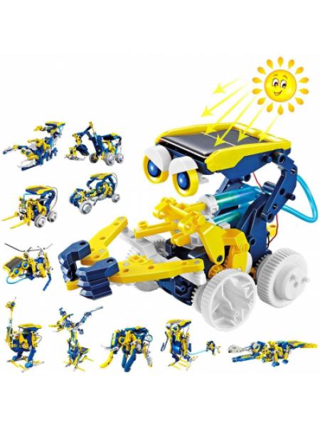 Конструктор робот Solar robot animals на солнечной батарее 11 в 1 SKL11-276399