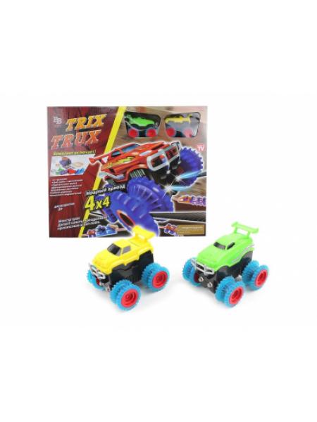 Конструктор канатный трек Trix Trux с 2 машинками Монстр трак SKL11-133922