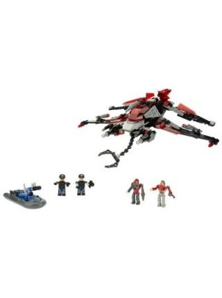 Инопланетный корабль- конструктор Крео Вторжение инопланетян 277 деталей - Alien Strike, Hasbro SKL14-138297