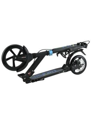 Самокат с дисковым тормозом SportVida черный SV-ME0005 SKL41-250628