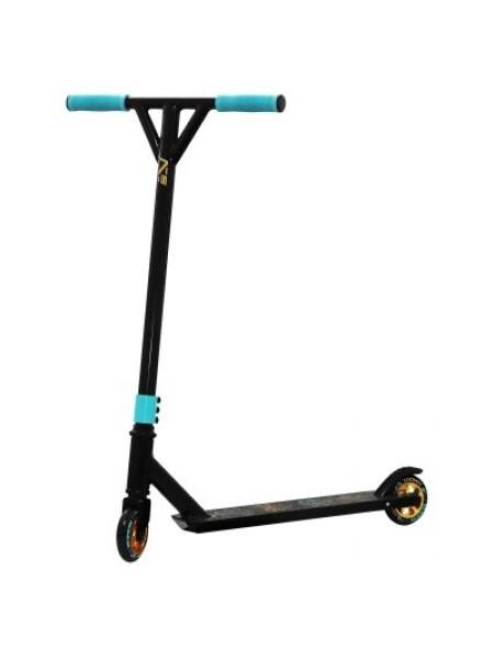 Трюковой самокат SportVida Stunt Poker Black/Blue SKL41-277945