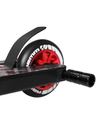 Трюковой самокат c пегами SportVida Stunt 110 Pro черный с красным SKL41-283238