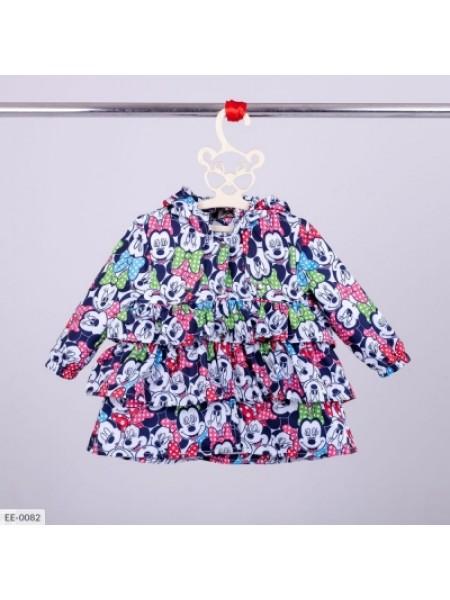 Летний детский плащик микки разноцветный SKL11-260927