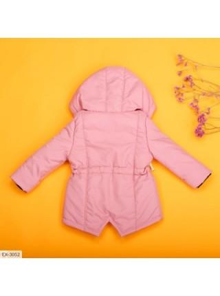 Детская демисезонная парка светло-розовая SKL11-283293