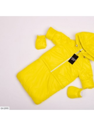 Детская тройка демисезонная желтая SKL11-283304