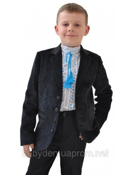 Пиджак стильный для мальчика вельвет