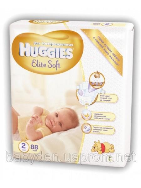Подгузники Huggies Elite Soft 2 Mega 88 шт.