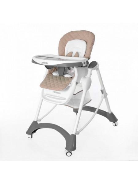 Стульчик для кормления CARRELLO Caramel CRL-9501, серый