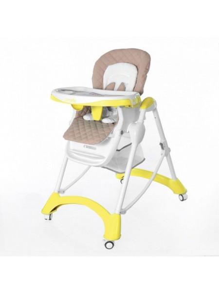 Стульчик для кормления CARRELLO Caramel CRL-9501, желтый