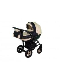 Детская коляска DISCOVERY-04, 2 в 1 светлый беж