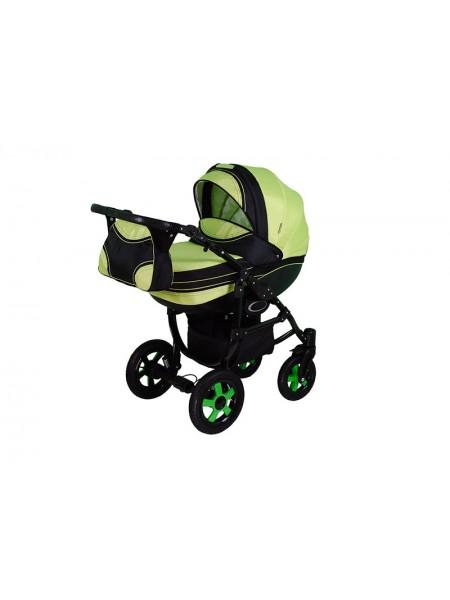 Детская коляска DISCOVERY-11, 2 в 1 салатовая