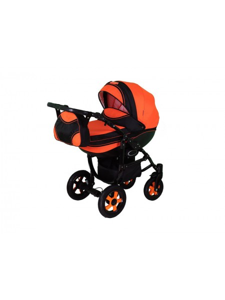 Детская коляска DISCOVERY-12, 2 в 1 оранжевая