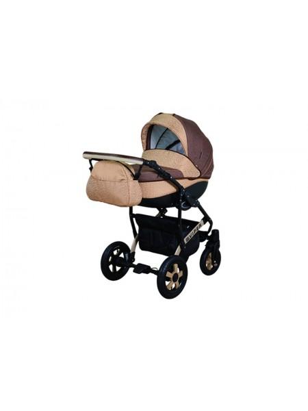 Детская коляска VIPER SAFARI VS-51, 2 в 1 капуччино с бежевым