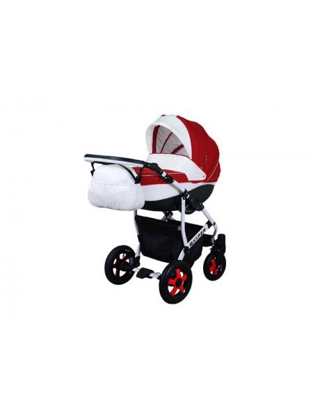 Детская коляска VIPER SAFARI VS-55, 2 в 1 красный с белым