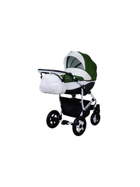 Детская коляска VIPER SAFARI VS-57, 2 в 1 зеленый с белым