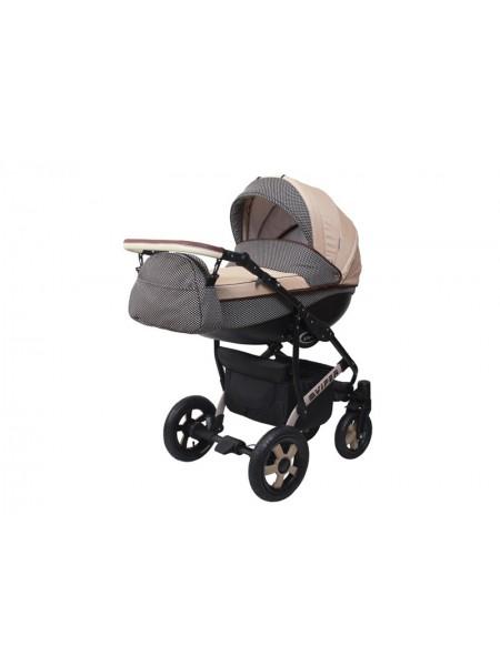 Детская коляска VIPER COUNTRY VC-97, 2 в 1 капуччино