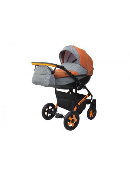 Детская коляска VIPER COUNTRY VC-98, 2 в 1 оранжевая
