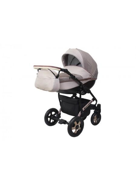 Детская коляска VIPER COUNTRY VC-99, 2 в 1 бежевая