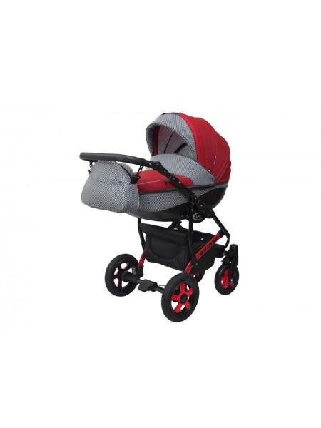 Детская коляска VIPER COUNTRY VC-100, 2 в 1 красная