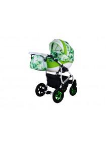 Детская коляска CARMELA FRESH CFR-53, 2 в 1 салатовая