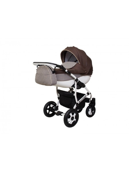 Детская коляска VIPER FASHION VFA-107, 2 в 1 шоколад