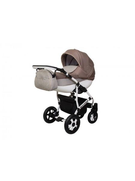 Детская коляска VIPER FASHION VFA-106, 2 в 1 капуччино