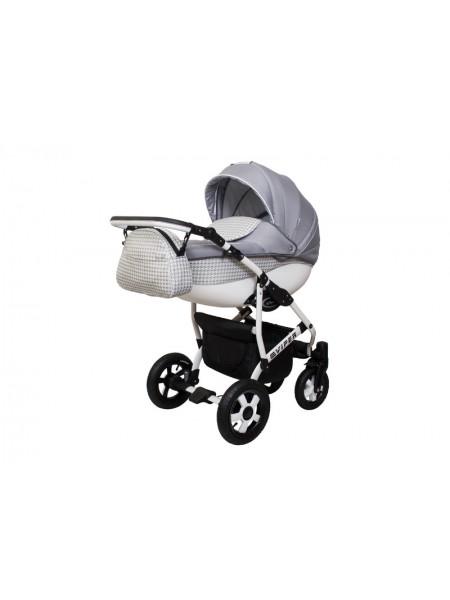 Детская коляска VIPER FASHION VFA-105, 2 в 1 серая