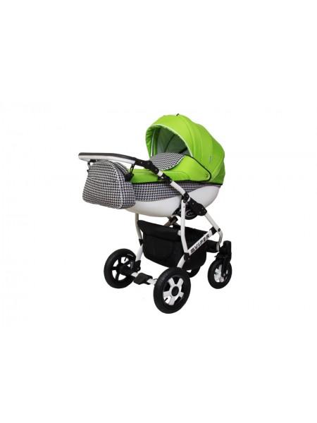 Детская коляска VIPER FASHION VFA-104, 2 в 1 салатовая