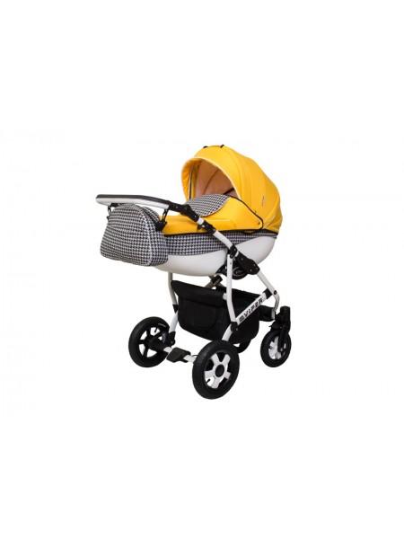 Детская коляска VIPER FASHION VFA-103, 2 в 1 желтая