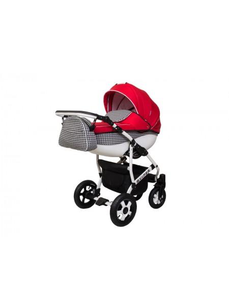 Детская коляска VIPER FASHION VFA-102, 2 в 1 красная