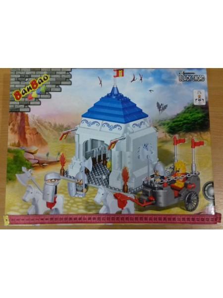 Конструктор Рыцарский замок, 460 деталей