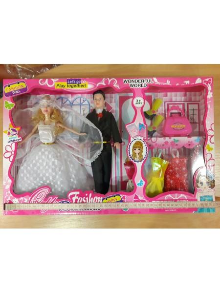 Набор кукла Невеста с Женихом