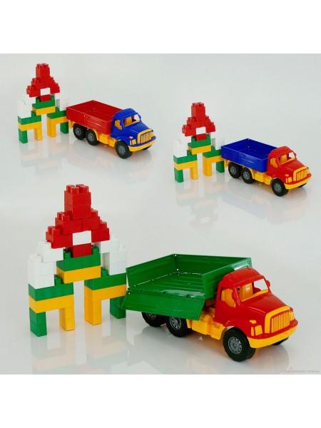Машина Магирус бортовая с конструктором