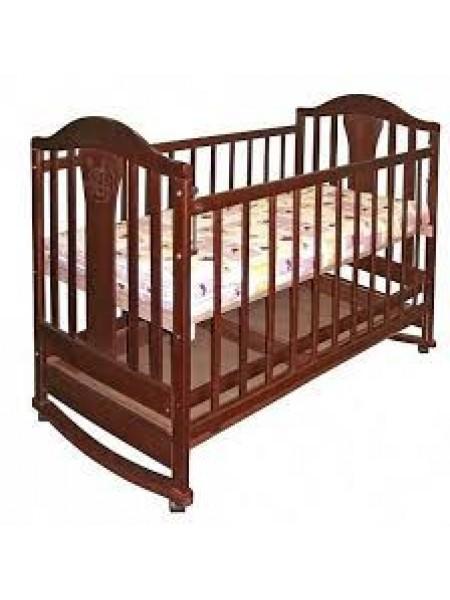 Детская кроватка с ящиком, полозья