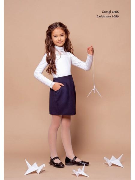 Школьная нарядная блузка- гольф