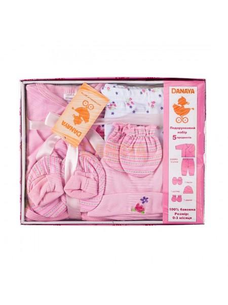 Набор подарочный (5 предметов) Розовый / 62990