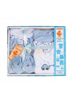 Набор подарочный (7 предметов) голубой / 62991