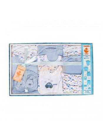 Набор подарочный (10 предметов) Голубой / 62996