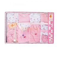 Набор подарочный (15 предметов) Розовый / 62997