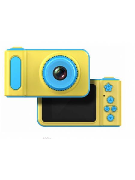 Детский фотоаппарат с записью видео и цветным экраном dvr baby camera V7 голубой SKL11-236840
